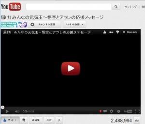 YouTube 再生 ...