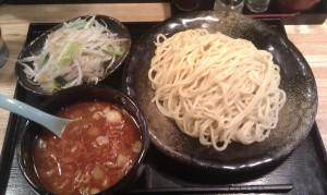辛つけ麺 (大盛 500g)