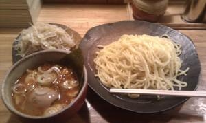 辛味つけ麺 中盛 (330g)
