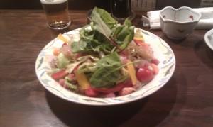 放心亭海鮮サラダ