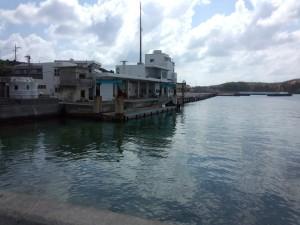 久部良漁港 東側