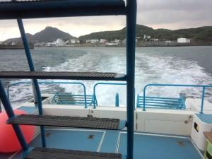グラスボート (久部良港)