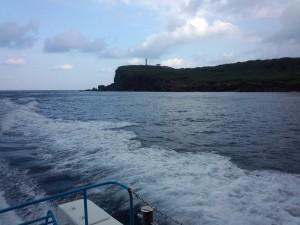 グラスボート (西崎灯台)