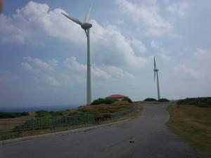 東牧場 風力発電
