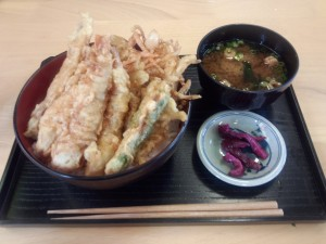 海鮮天丼 (1)
