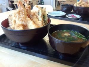 海鮮天丼 (2)