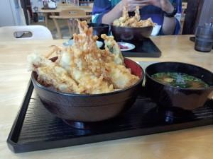 海鮮天丼 (3)