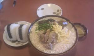 豆腐そば (1)