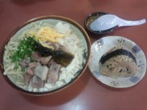 豆腐そば (2)