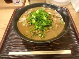 肉カレーうどん (中盛)
