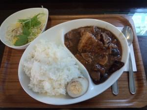 魯肉飯 (ランチセット, 大盛り)