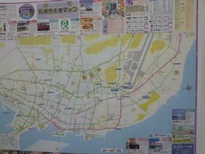 石垣市街地マップ