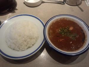 特製エビ豆カレー (辛さ 20 倍)