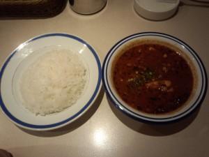 チキン豆カレー (辛さ 20 倍)