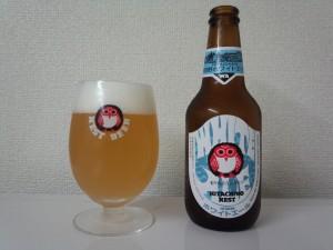ホワイトエール + ネストオリジナル ゴブレットグラス