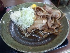 豚肉生姜焼定食 (ライス 大)