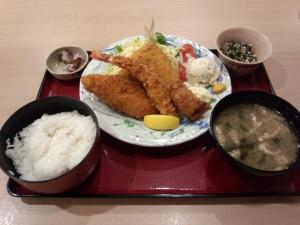 魚河岸フライ定食 (2014/01/14)