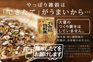 国産 21 世紀雑穀米