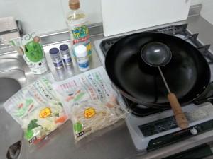 野菜炒め (1)