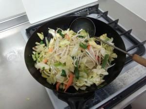 野菜炒め (3)