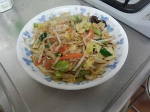 野菜炒め (4)