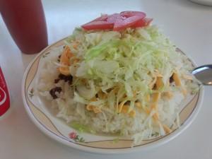 タコライスチーズ野菜 (2)