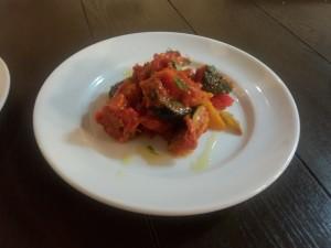 カポナータ (夏野菜のトマト煮込み)