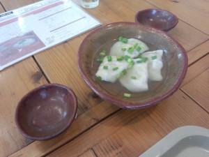 水餃子 (4 個入り)
