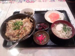 日替り定食 (沖縄ちゃんぽん)