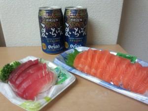 夏いちばん + お刺身 (東急ストア)