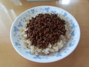 タコライス (牛赤身ひき肉 135g)
