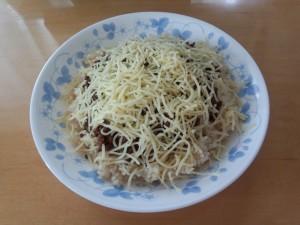 タコライス (細切りチーズ 45g)