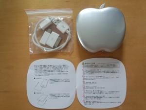 りんご型モバイルバッテリー POWER STYLE 6400 (3)