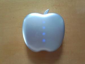 りんご型モバイルバッテリー POWER STYLE 6400 (4)