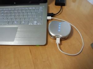 りんご型モバイルバッテリー POWER STYLE 6400 (6)