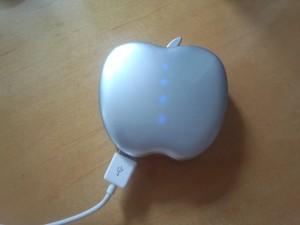 りんご型モバイルバッテリー POWER STYLE 6400 (7)