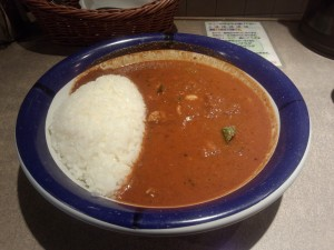チキンカレー (ルー大盛り, 辛さ 70 倍)