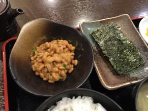 納豆 + のり