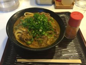 肉カレーうどん (大盛)