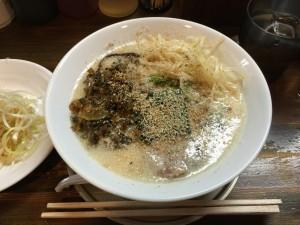 豚骨味噌 白髪ネギラーメン (3)