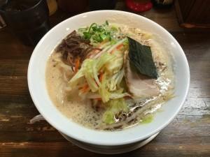 豚骨野菜ラーメン 醤油 (1)