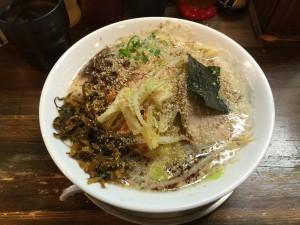 豚骨野菜ラーメン 醤油 (2)
