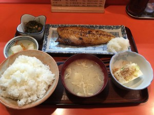さば焼定食 (1)