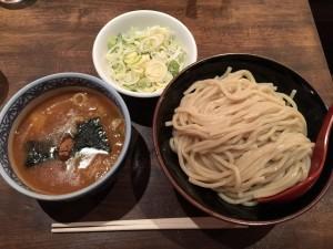 つけ麺 (中) + 薬味ねぎ
