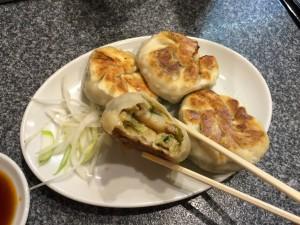 海老にら餃子 (2)