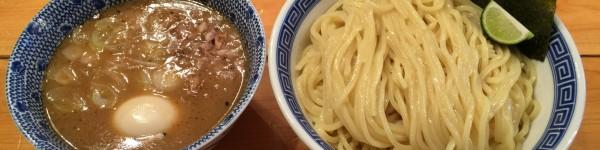 濃厚豚崩しつけ麺 + 大盛り (1)