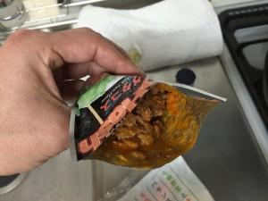 野菜炒め + タコハッシュ (2)