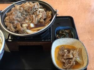 牛すき鍋膳 肉二倍盛 (4)