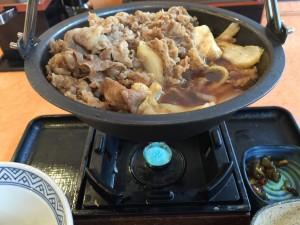 牛すき鍋膳 肉二倍盛 (5)