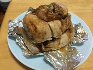 丸焼きチキン (2)